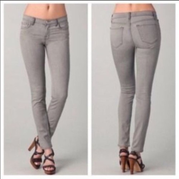 J Brand Denim - J Brand Low Slim Fit Grey Jean Great Condition